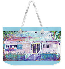 Palm Cottage Weekender Tote Bag