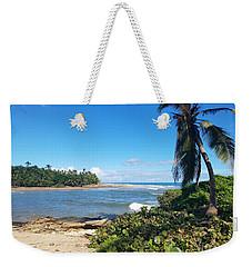 Palm Cove Weekender Tote Bag