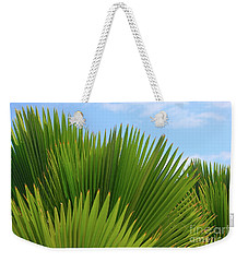 Palm Fans Weekender Tote Bag by The Art of Alice Terrill