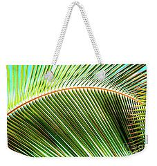 Palm Frond Sway Weekender Tote Bag