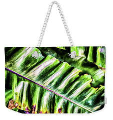 Palm Fronds Up Close Weekender Tote Bag