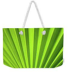 Palm Leaf Abstract Weekender Tote Bag