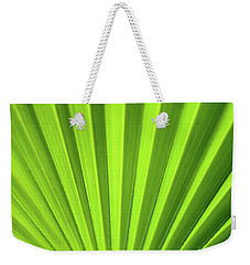 Palm Leaf Abstract Weekender Tote Bag