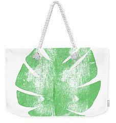 Palm Leaf- Art By Linda Woods Weekender Tote Bag