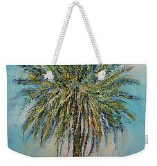 Palm Weekender Tote Bag by Michael Creese