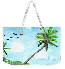 Palm Over Diani Beach Weekender Tote Bag