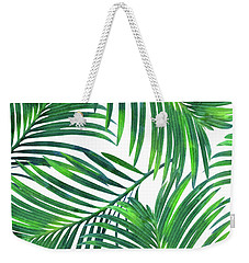 Palm Paradise Weekender Tote Bag