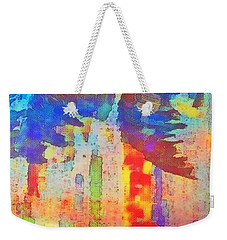 Palm Party Weekender Tote Bag