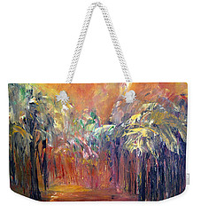 Palm Passage Weekender Tote Bag