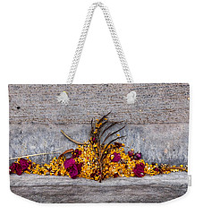 Palm Springs Gutterscape Weekender Tote Bag by Stan  Magnan