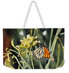 Weekender Tote Bag featuring the photograph Palm Springs Monarch by Kyle Hanson