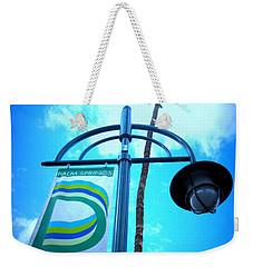 Palm Springs North Weekender Tote Bag
