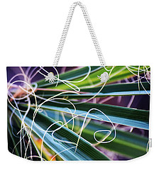 Palm Strings Weekender Tote Bag by John Glass