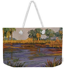 Palm Tree Hideaway  Weekender Tote Bag