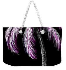 Palm Tree In Pink Weekender Tote Bag by Dani Abbott