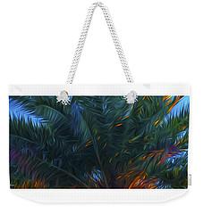 Palm Tree In The Sun Weekender Tote Bag by Glenn Gemmell