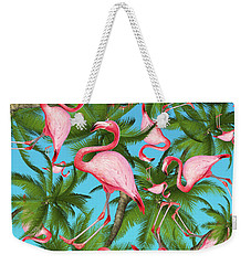 Palm Tree Weekender Tote Bag by Mark Ashkenazi