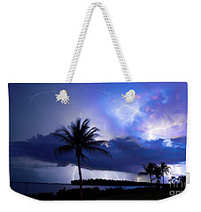 Palm Tree Nights Weekender Tote Bag