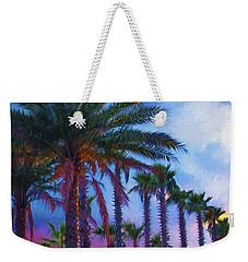 Palm Trees 3 Weekender Tote Bag by Glenn Gemmell