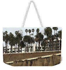 Palm Trees And Apartments Weekender Tote Bag