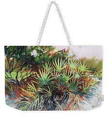 Palmetto Dance Weekender Tote Bag by Mary Hubley