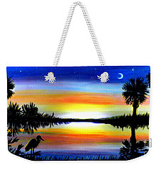 Palmetto Moon Low Country Sunset II Weekender Tote Bag by Patricia L Davidson