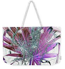 Festive Palm Weekender Tote Bag