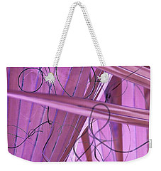 Lines, Curves And Highlights Weekender Tote Bag