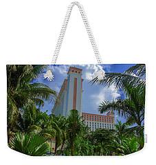 Palms At The Riu Cancun Weekender Tote Bag