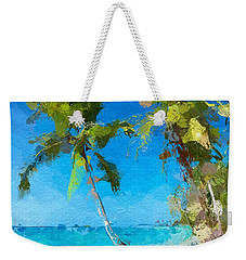 Palms Beach Abstract  Weekender Tote Bag