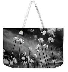 Palms Weekender Tote Bag by Sean Foster