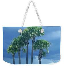 Palmy Skies Weekender Tote Bag by Rachel Hannah