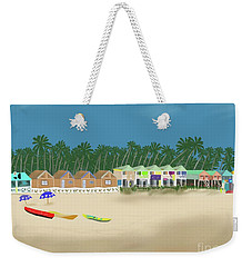 Palolem Beach Goa Weekender Tote Bag