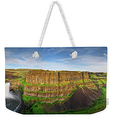 Palouse Falls Canyon Weekender Tote Bag