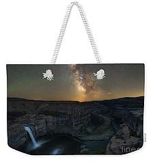Palouse Falls Milky Way Galaxy  Weekender Tote Bag