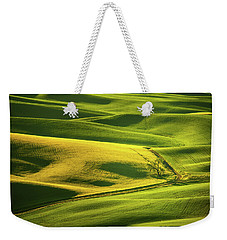 Palouse Shades Of Green Weekender Tote Bag
