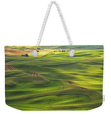 Weekender Tote Bag featuring the photograph Palouse Views by Patricia Davidson