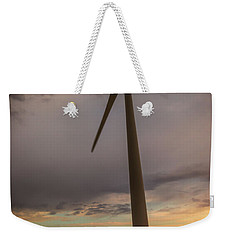 Palouse Windmill At Sunrise Weekender Tote Bag by Chris McKenna