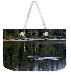 Pamelia Lake Reflection Weekender Tote Bag