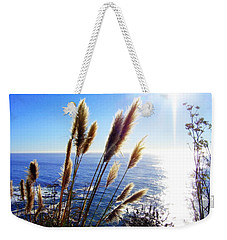 Pampas Grass And The Pacific 2 Weekender Tote Bag