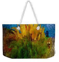 Pampas Grass Weekender Tote Bag by Iowan Stone-Flowers