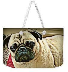 Pampered Pug Weekender Tote Bag