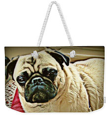 Pampered Pug Weekender Tote Bag