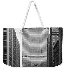 Weekender Tote Bag featuring the photograph Pan Am Building by Granger
