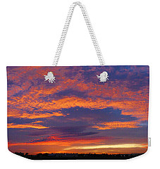 Pana 53rd Ave Sunrise Weekender Tote Bag by Kimo Fernandez