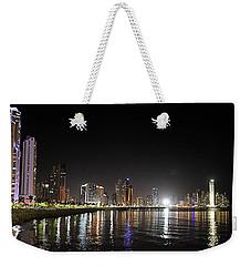 Panama City Night Weekender Tote Bag