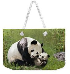 Panda Bears Weekender Tote Bag
