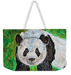 Panda Weekender Tote Bag by Ella Kaye Dickey