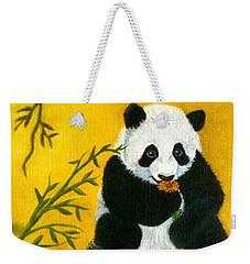 Panda Power Weekender Tote Bag