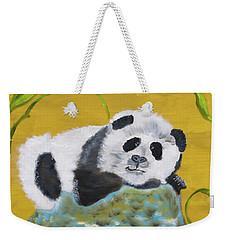 Pandatude Weekender Tote Bag